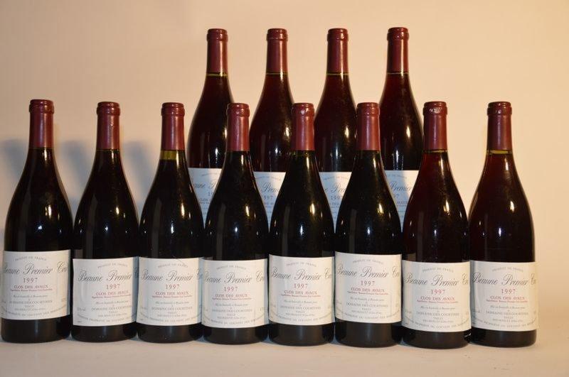 12 b beaune clos des avaux 1er cru domaine des courtines 1997 lot n 576 vins spiritueux. Black Bedroom Furniture Sets. Home Design Ideas