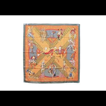 Carré en soie Hermès (Lot n°85) - Bijoux, Montres   Mode - Ventes ... 0be759e5658